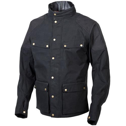 Scorpion Birmingham Wax Jacket - Black