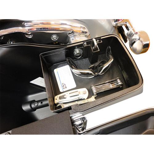 Hardbagger Top Shelf Saddlebag Organizer for 2014-2019 Harley Touring