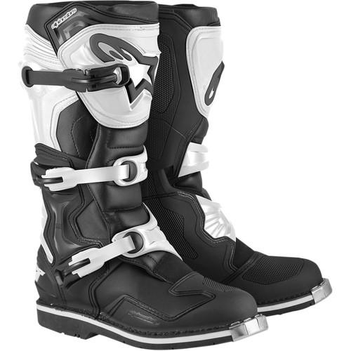Alpinestars Tech 1 Boots - Black/White