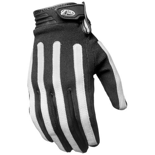 Roland Sands Strand Gloves - Black/White
