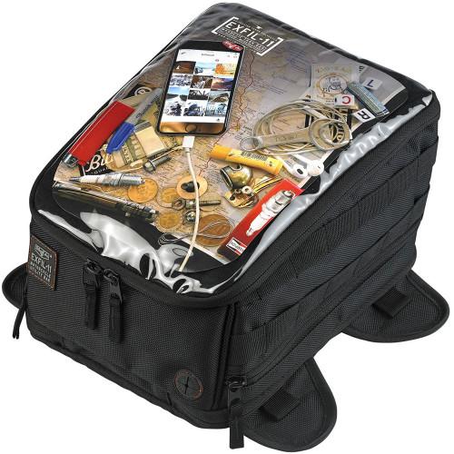 Biltwell Exfil-11 Magnetic Tank Bag - Black