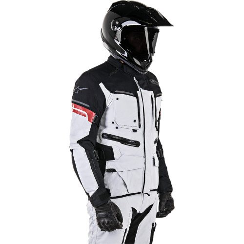 Alpinestars Valparaiso Drystar Jacket - Light Gray/Black