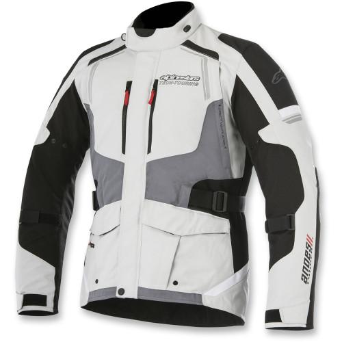 Alpinestars Andes Drystar Jacket V2 - Light Gray/Black/Dark Gray