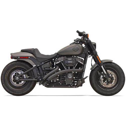 Bassani Sweeper Radius Exhaust for 2018-2020 Harley Softail* - Black