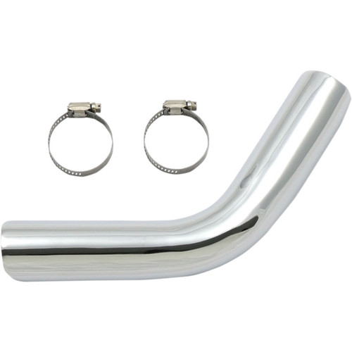 Paughco Front Exhaust Heat Shield for 1957-1985 Harley Ironhead Sportster - Chrome