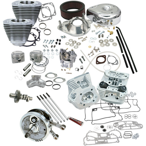 "S&S 96"" Hot Set Up Big Bore Stroker Kit for 1993-1999 Harley Big Twins"