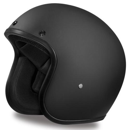 Daytona DOT Cruiser Helmet - Matte Black
