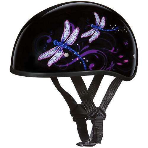 Daytona DOT Skull Helmet - Dragonfly