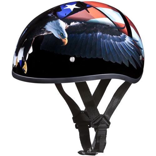 Daytona DOT Skull Helmet - Freedom