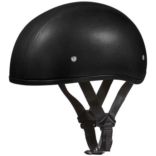 Daytona DOT Skull Helmet - Leather