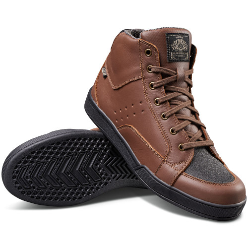 Roland Sands Fresno Riding Shoe - Tobacco