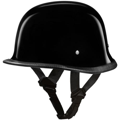 Daytona DOT German Helmet - Gloss Black