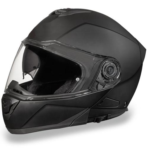 Daytona DOT Glide Modular Helmet - Matte Black