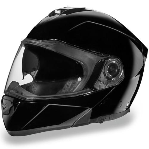 Daytona DOT Glide Modular Helmet - Gloss Black