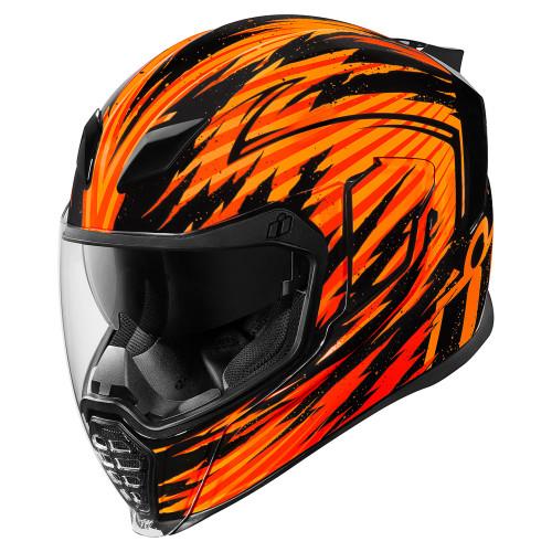 Icon Airflite Fayder Helmet - Orange