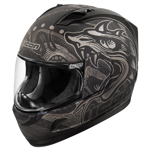 Icon Alliance Black Oro Boros Helmet
