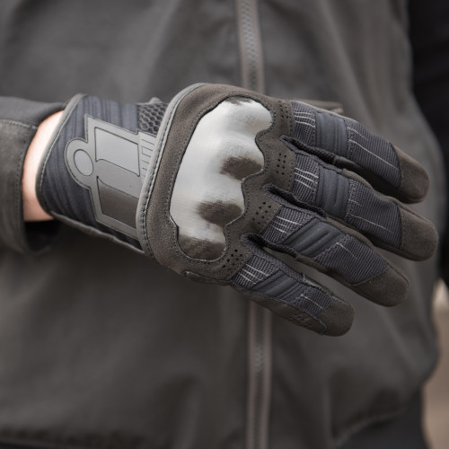 Icon Overlord Gloves - Black