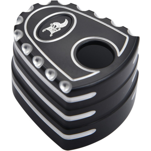 Ken's Factory Ignition Switch Cover for 2007-2013 Harley Touring - Black