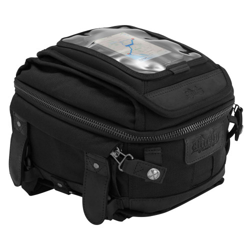 Burly Tank/Tail Bag - Black