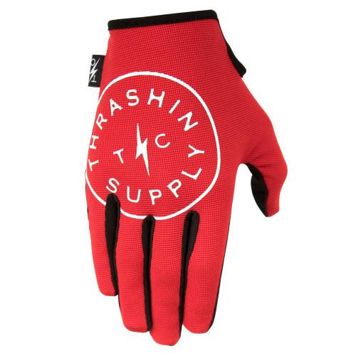 Thrashin Supply Stealth Gloves V.2 - Red