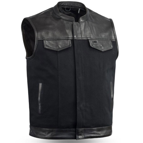 First Mfg. 49/51 Vest w/ Collar