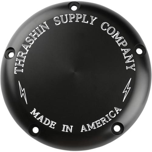 Thrashin Supply Derby Cover for 1999-2018 Harley* - Black