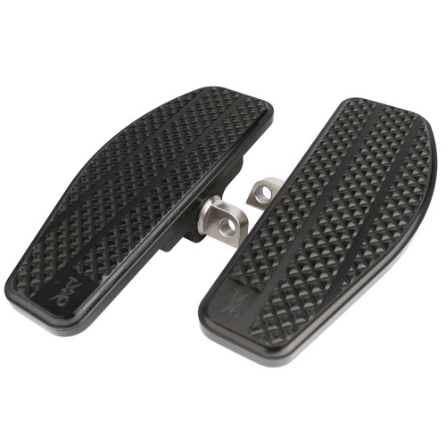 Thrashin Supply Mini Floorboards Foot Pegs for Harley - Black