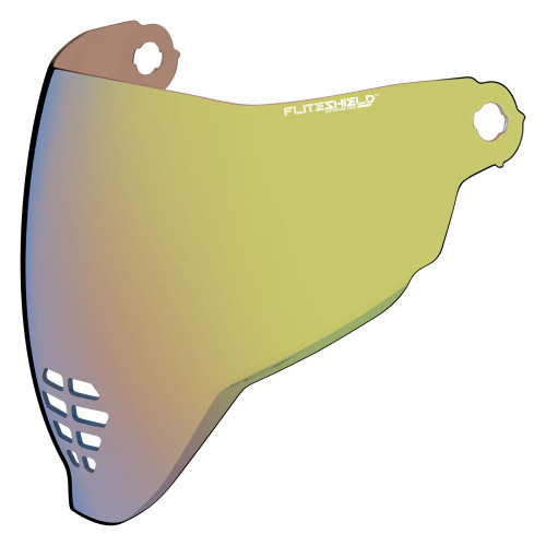 Icon Airflite RST Gold Face Shield