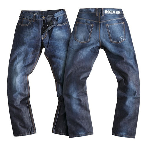 Rokker Revolution Waterproof Denim Motorcycle Jeans