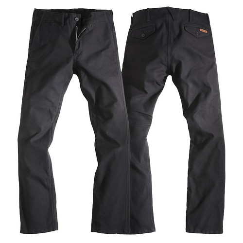 Rokker Riding Chinos - Black