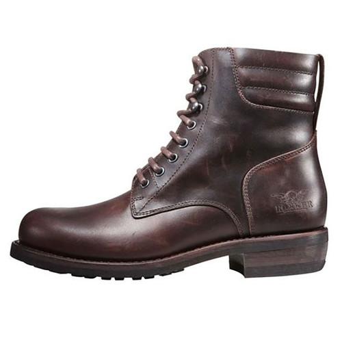 Rokker Classic Racer Boots - Dark Brown