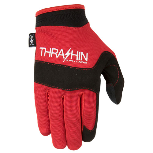 Thrashin Supply Covert V2 Gloves - Red/Black