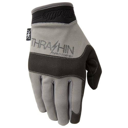 Thrashin Supply Covert V2 Gloves - Grey/Black
