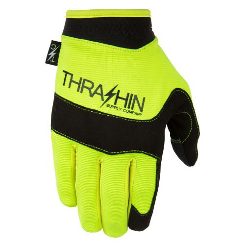 Thrashin Supply Covert V2 Gloves - Hi Viz