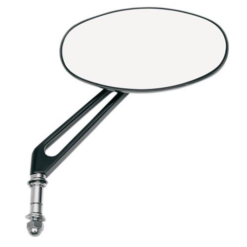 Drag Specialties Stealth I Mirror for Harley - Black