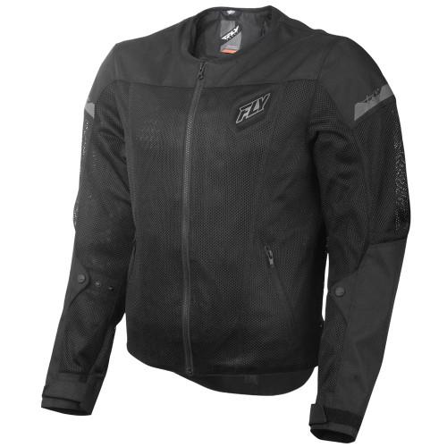 FLY Street Flux Air Mesh Jacket - Black