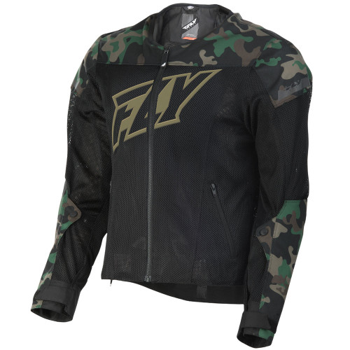 FLY Street Flux Air Mesh Jacket - Camo