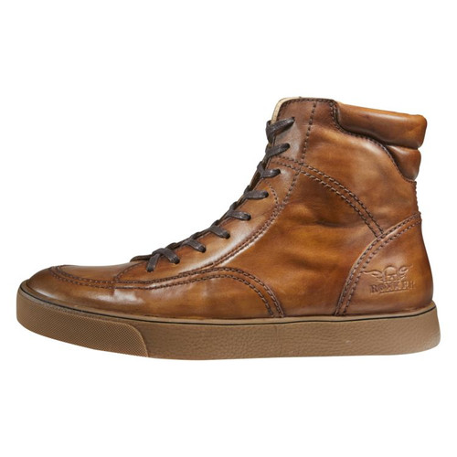 Rokker City Moto Shoes - Brown