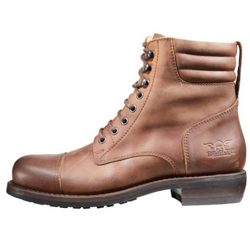 Rokker Urban Racer Boots - Dark Brown