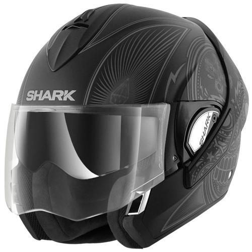 Shark Evoline 3 Modular Helmet - Mezcal Matte Black