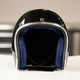 Custom Destruction 3/4 Novelty Helmet - Gloss Black