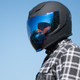 Icon Airflite RST Blue Face Shield