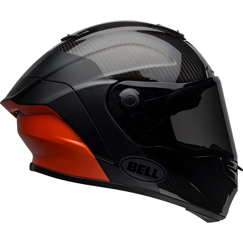 fa9bafe7 Bell Race Star Flex DLX Lux Matte/Gloss Black/Orange Helmet - Get ...