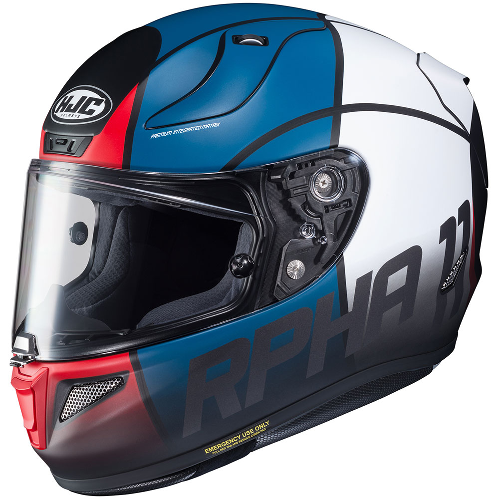 Hjc Rpha 11 >> Hjc Rpha 11 Pro Quintain Blue Helmet Get Lowered Cycles