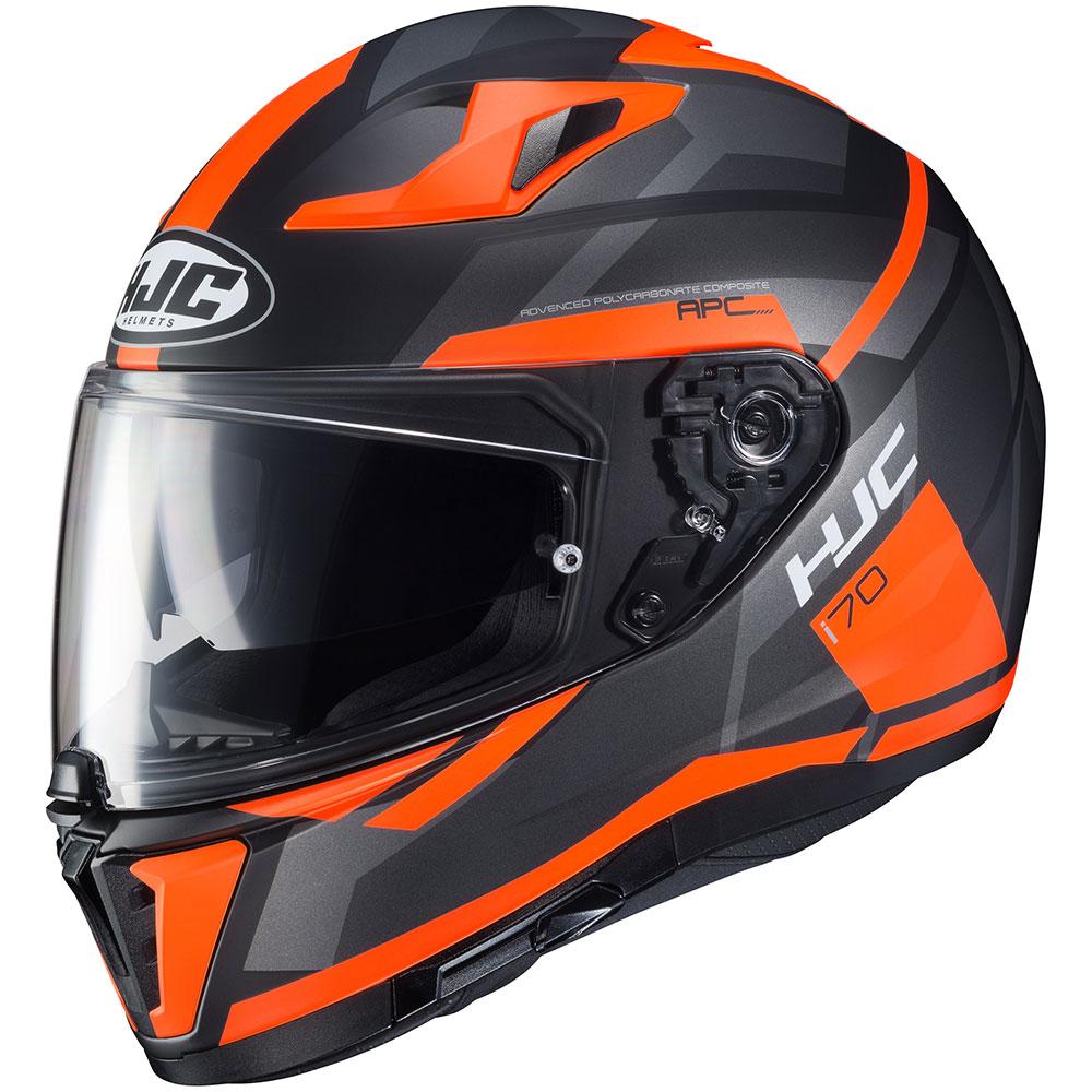 e24e7013 HJC i70 Elim Orange/Black Motorcycle Helmet - MC-6HSF - Get Lowered ...