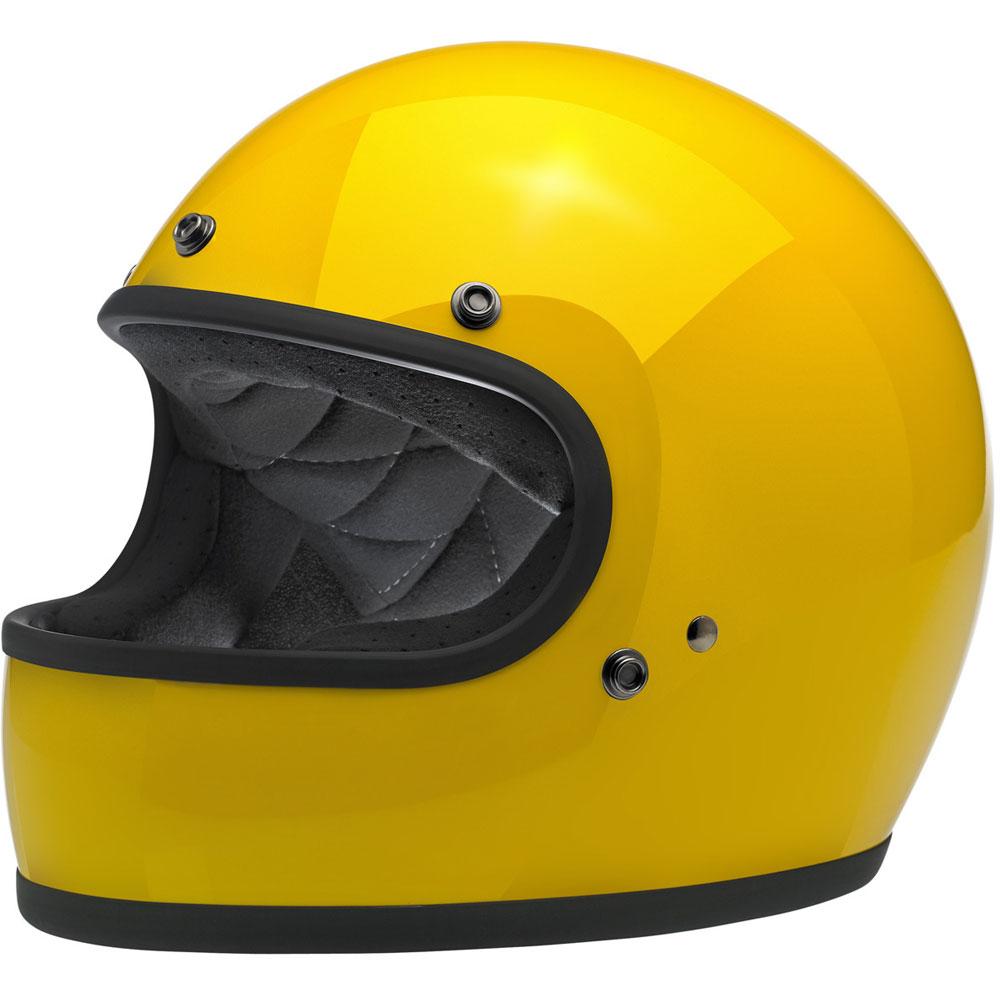 aa3911d9 Biltwell Gringo Motorcycle Helmet - Safe-T Moto Yellow - Get Lowered ...