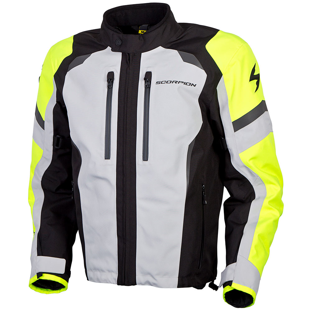 eef04a7f7c7c2 Scorpion Optima Hi-Viz Motorcycle Jacket - Get Lowered Cycles