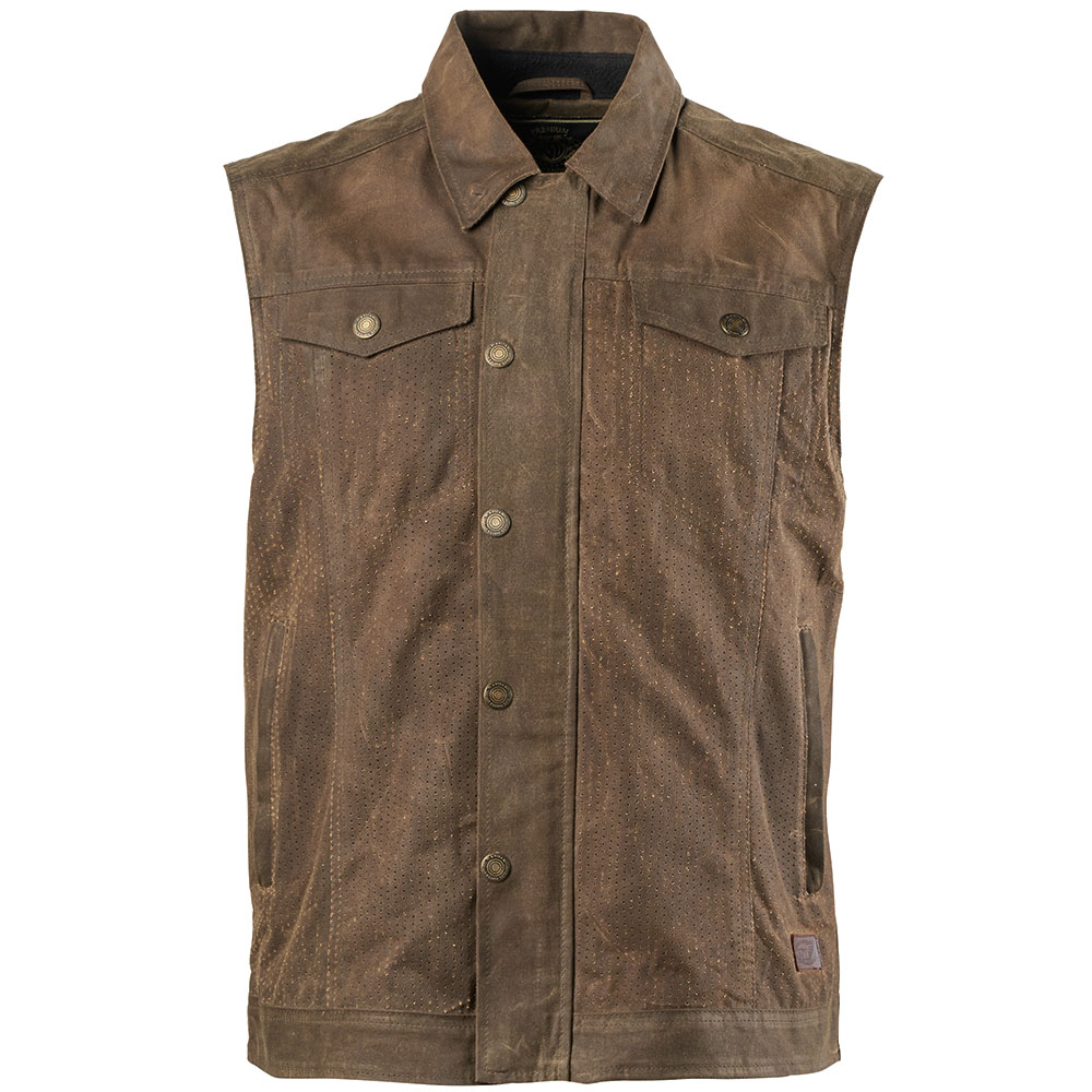 a1258e6754e2 Roland Sands Ramone Perforated Textile Motorcycle Vest - Ranger ...