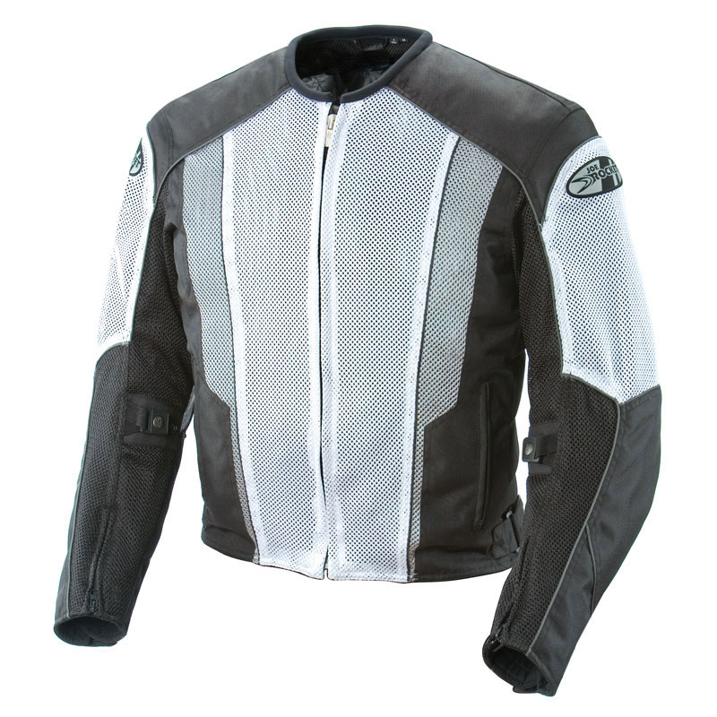 big discount of 2019 wide varieties classic style of 2019 Joe Rocket Phoenix 5.0 Mesh Jacket - White/Black