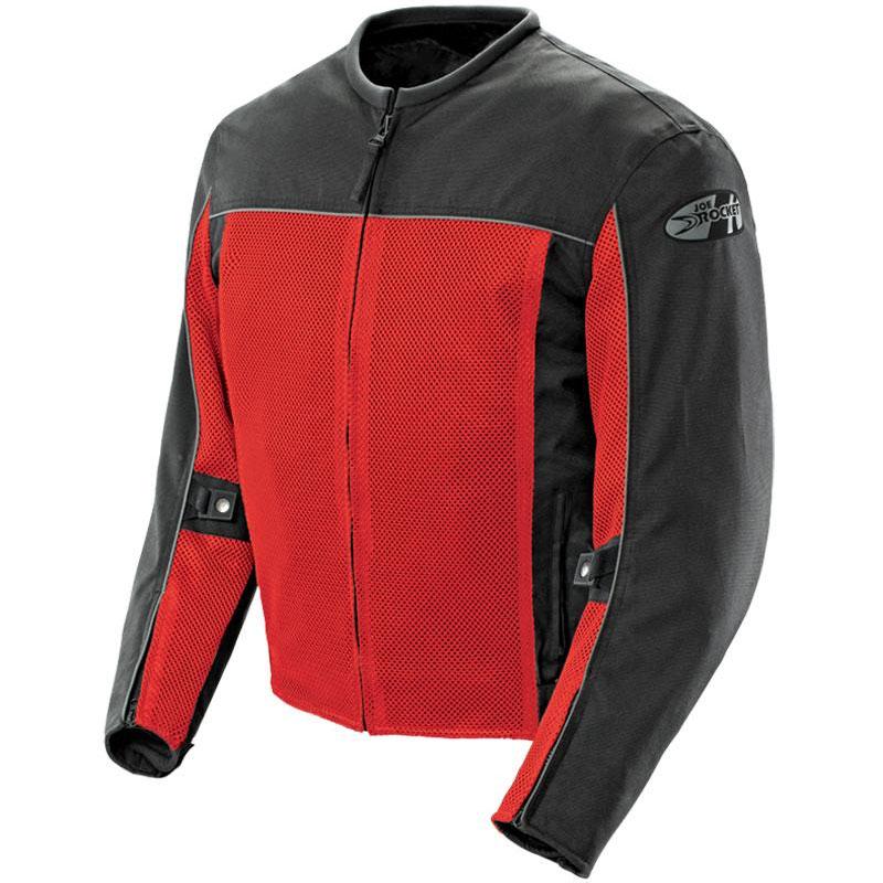 Joe Rocket Velocity Womens Mesh Street Motorcycle Jacket Pink//Black//X-Small